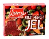 Lieber's Artificial Flavor Fruit Punch Jel 3 oz
