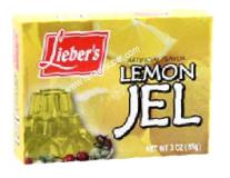 Lieber's Artificial Flavor Lemon Jel 3 oz