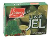 Lieber's Artificial Flavor Lime Jel 3 oz