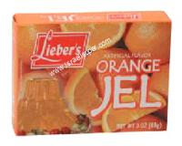 Lieber's Artificial Flavor Orange Jel 3 oz