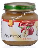 First Choice Applesauce Baby Food For Passover 4 oz