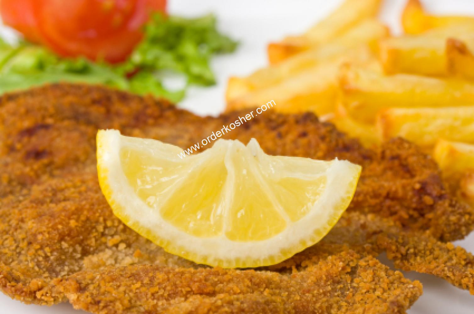 Breaded Chicken Cutlets - Passover Entrées